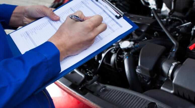 Vehicle Repair Checklist